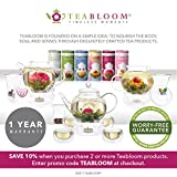 Teabloom Glass Scoop for Loose Leaf Tea – Perfect Measure Lead-Free Glass Tea Spoon