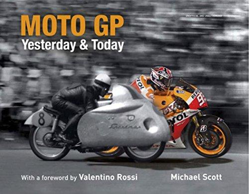 Moto GP Yesterday & Today (Valentino Rossi Photograph)