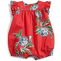 Macacão Primavera Green Vermelho - Bebê Menina 1-3M