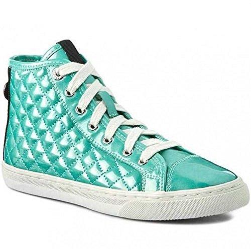 N Watersea Geox Sneaker c3003 Sintetica 000hi D4258a New 36 Donna Vernice Club RvwqRYg