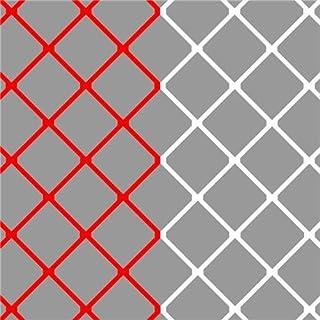Sportec But de Soccer des Jeunes Net 5 x 2 x 1 x 1 m de Fil 4 mm ro/wi
