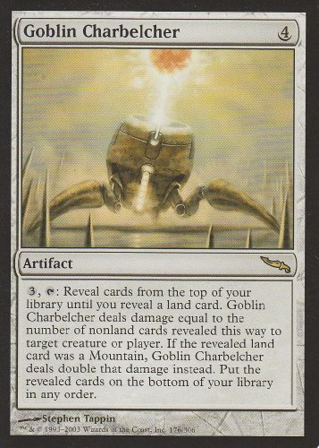 Goblin Charbelcher (Magic the Gathering : Mirrodin #176 Rare)
