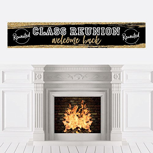 Reunited - School Class Reunion Party Decorations Party Banner]()