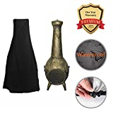 24''Dia x 47''H Patio Chiminea Cover Water Resistant Garden Outdoor Heater Cover