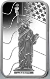 5 gram silver ingot PAMP Statue of Liberty Design