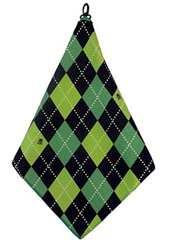 Green Lime Black Argyle Print Microfiber BeeJos product image