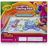 Crayola Trolls Light-Up Tracing Pad, Coloring Board Kids, Gift, Toys Girls, Ages 6, 7, 8, 9