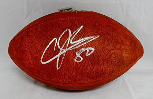Johnson Autographed Nfl Football - Andre Johnson Autographed NFL Authentic Duke Football- PSA/DNA Authenticated