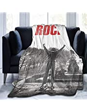 """Rocky Balboa Flanellen Fleece Deken, Warm Gooi Lichtgewicht Deken Microfleece Ultra Zachte Deken voor Sofa Slaapkamer 50 """"X40"""""""