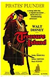 TREASURE ISLAND (1950) Original Authentic Movie Poster - 27x41 One Sheet - Single-Sided - FOLDED - Bobby Driscoll - Robert Newton - Basil Sydney - Walter Fitzgerald