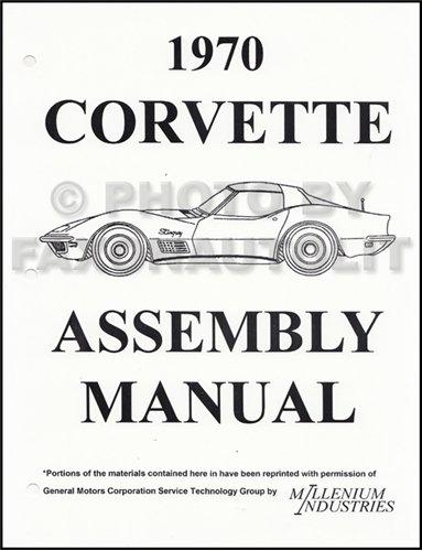 1970 Corvette Factory Assembly (Assembly Manual)