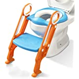 Potty Training Toilet Seat with Step Stool Ladder for Boys and Girls Baby Toddler Kid Children Toilet Training Seat…