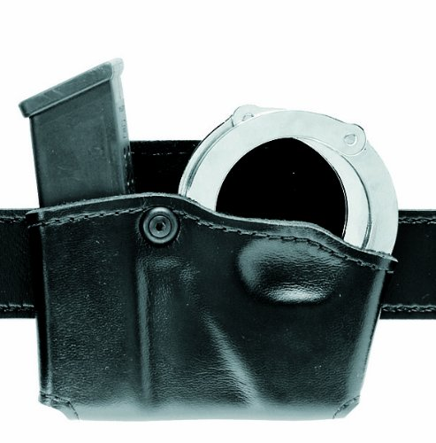 Free Safariland 573 Glock 20 21 Open Top Paddle Magazine Pouch with Handcuff Case