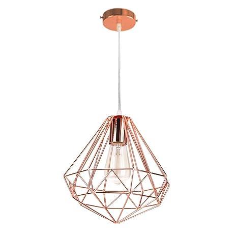 Industrial Minimalista Chandelier Light Lámpara de Techo ...