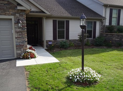 Espero 36-in Outdoor Light Post with Fiberglass Lamp Post for Yard Driveway,Black Wellco Industries Inc.