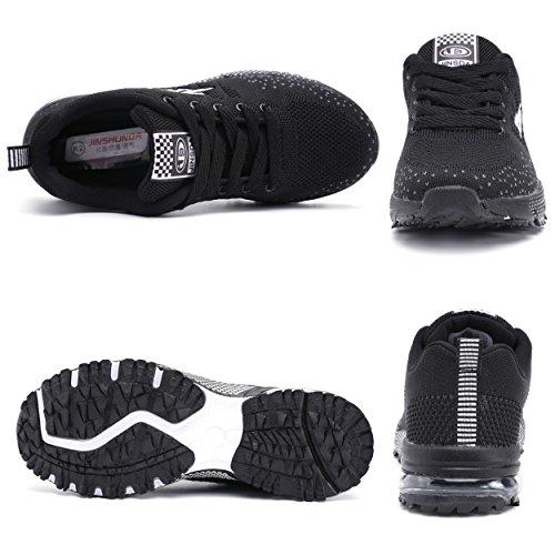Corsa Scarpe all'Aperto all'Aperto Sneakers da Donna Ginnastica Sneakers Interior Casual Scarpe Donna Running Nero Fitness Pterosaur Ginnastica vqw6xA065
