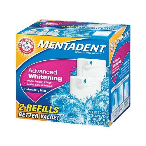Mentadent Toothpaste Advanced Whitening Refreshing