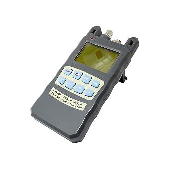 TODO en uno portátil 10dBm con conector SC y FC óptico medidor de potencia 70 A + de fibra ...