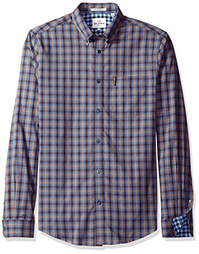 ben-sherman-mens-long-sleeve-house-gingham-button-down-shirt-washed-blue-x-large