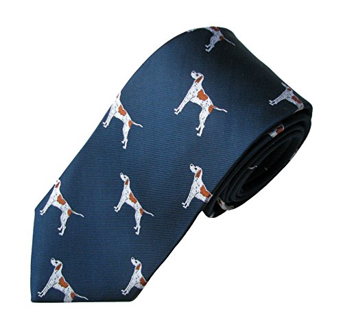 English Pointer Tie (Men's Dog Breed Neck Tie) ()