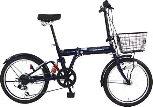 C.Dream(シードリーム) ビジネスコンパクト BS06 20インチ 折畳み自転車 ネイビー 6段変速 B017X8G4K6