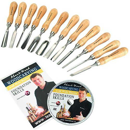 Record Power 12-Piece Carving Set