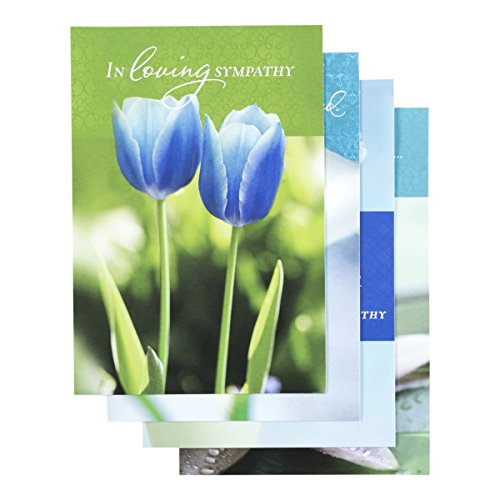 Sympathy - Inspirational Boxed Cards - Tulips