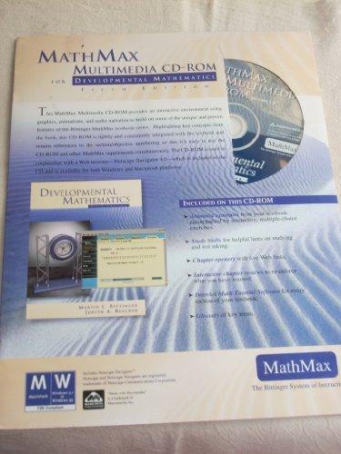 Mathmax Multimedia Cd-Rom for Developmental Mathematics