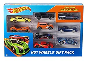 Hot Wheels 9-Car Gift Pack (Styles May Vary) - Pack of 2