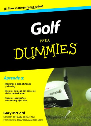 Golf para Dummies (Spanish Edition)