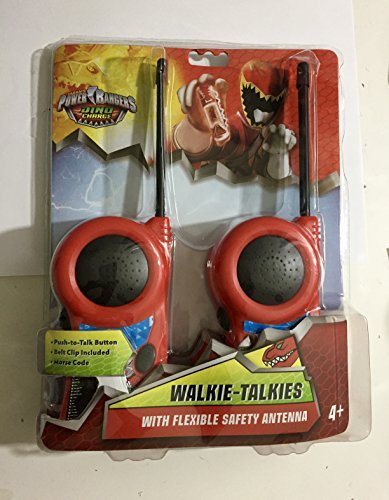 Power Rangers Dino Charge Walkie Talkies (Power Ranger Belt)