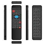 Walmeck TV Wireless Keyboard 6-Axis Sensor Remote Control IR Learning for Smart TV Android TV Mini PC