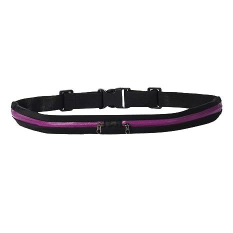 Running Sport Waist Belt Pocket Bum Bag Stretching Jogging Pouch Pack Cycling J