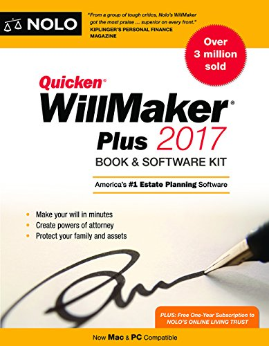 Quicken Willmaker Plus 2017 Edition: Book & Software Kit]()