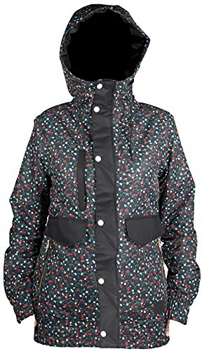 - Neff Shelby Women's Skiing Snowmobile Jacket - Floral / Small