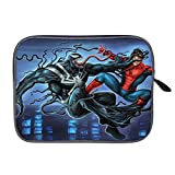 Veno-m Ver-sus Sp-ider Man Laptop Sleeve Case Bag Cover Tablet Briefcase Carrying Bag for 14 Inch MacBook Pro/MacBook Air/Notebook/Ultrabook/Chromebooks