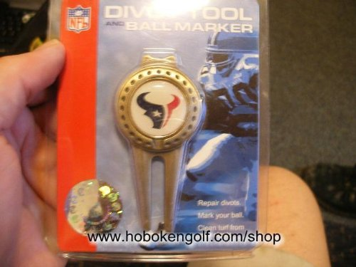 Houston Texans Repair Tool and Ball Marker by McArthur Sports