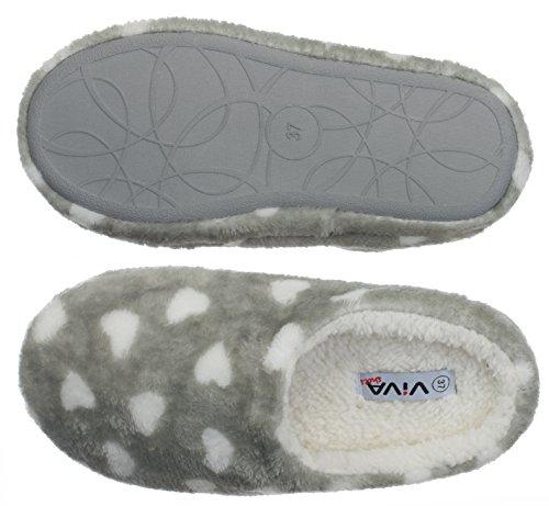 Women's Women's Grey brandsseller Women's brandsseller brandsseller Women's Slippers Grey Slippers Slippers Grey brandsseller Slippers 6nSXPaq