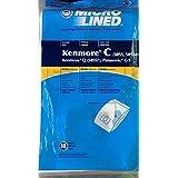 Vacuum Cleaner Bags 50 Vacuum bags to fit Kenmore Type C 5055&50558,Q 50557
