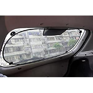 Hosaire 6 Packs Car Sunshades Windshield Reflector Windshield/ Side Windows/ Rear Window for Most Car,Truck,SUV,Van for Your Child - Baby