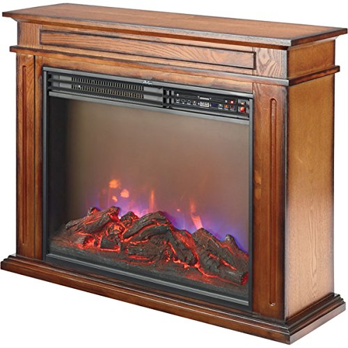 Cheap Profusion Heat FP406R-Q Infrared 3-Color Flame Electric Fireplaces Black Friday & Cyber Monday 2019