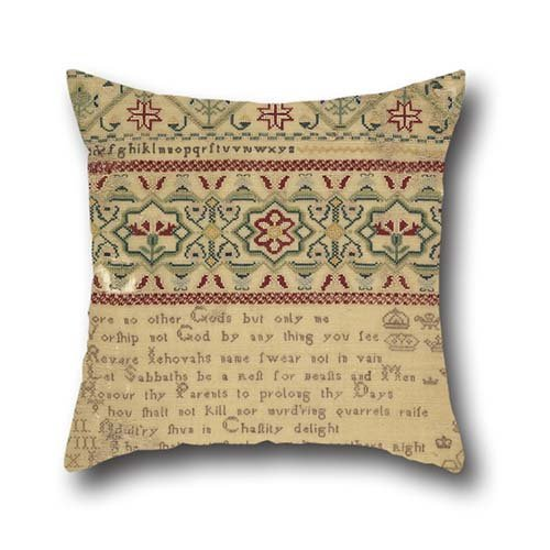 Throw Cushion Covers Of Oil Painting Anne Hart - Sampler,for Home