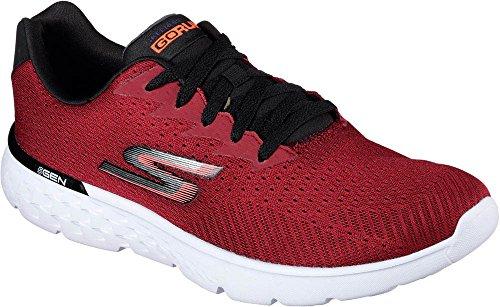 Skechers Performance Men's Go Run 400 Generate Running Shoe, Red/Black, 10.5 M US
