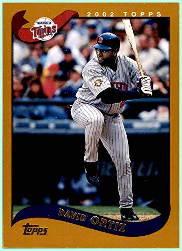 2002 Topps #489 David Ortiz MINNESOTA TWINS