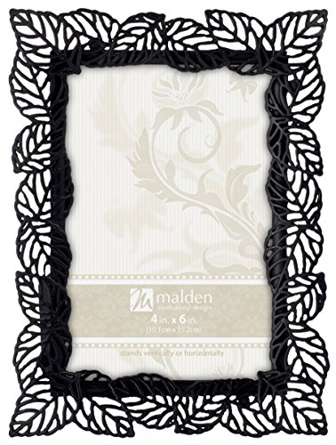 Branch Picture Frame (Malden International Designs Diecast Bronze Metal Leaf Picture Frame, 4x6,)