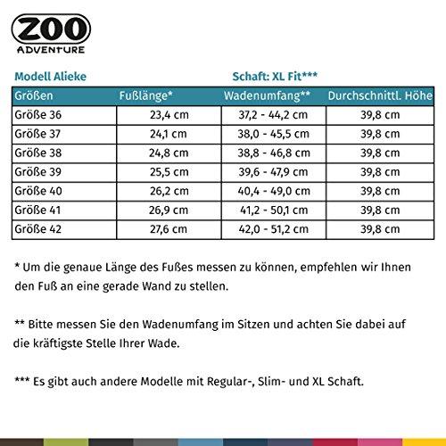 Zoo Eventyr - Alieke - Vandtætte Udendørs Støvler & Vinterstøvler Af Læder Til Kvinder Sort 001 lwt83AGWC