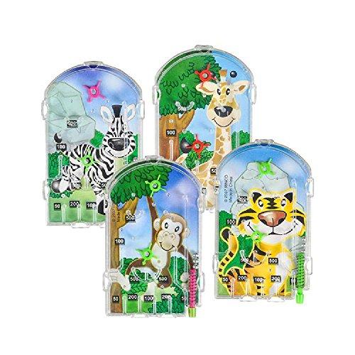 3'' Zoo Animal Pinball Game by Bargain World