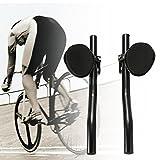 FidgetFidget Rest One Pair Road Bike Bicycle Aero Bar Handlebar Aerobar Q1A7