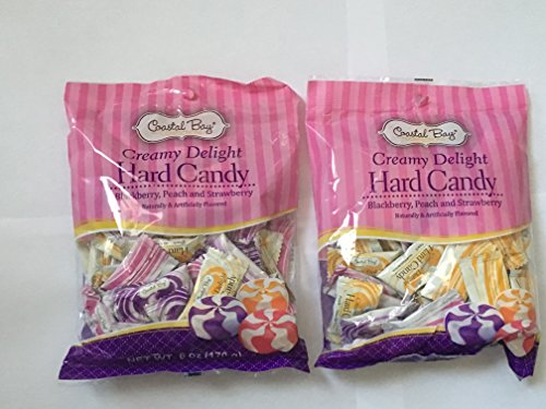 (Coastal Bay Creamy Delight Hard Candy 6 oz bag (2 bags 12 oz total))