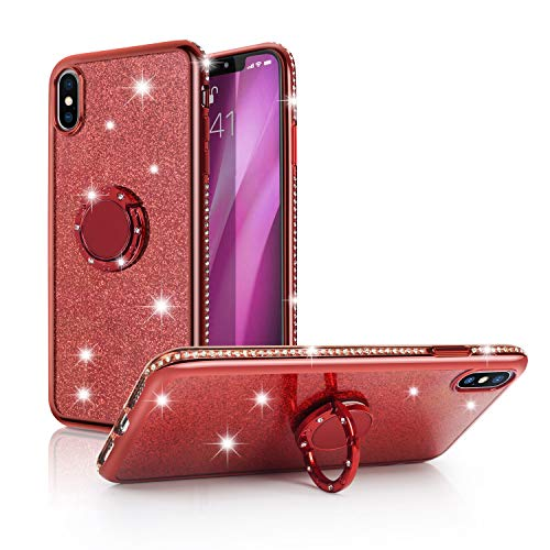 iPhone-Xs-Max-CaseWATACHE-Glitter-Cute-Phone-Case-Girls-with-Kickstand-Bling-Diamond-Rhinestone-Bumper-Ring-Stand-Protective-Girl-Women-Case-for-Apple-iPhone-Xs-Max65
